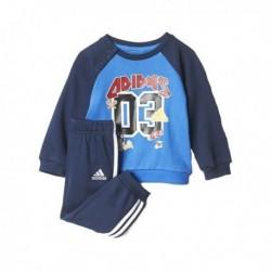 Adidas I Super Sport Terry Kisfiú Bébi Melegítő Együttes (Kék-Színes) CE9545