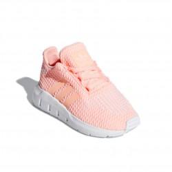Adidas Originals Swift Run I Lány Gyerek Cipő (Barack-Fehér) CG6924