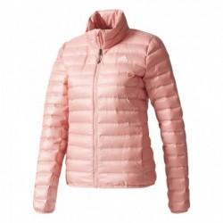Adidas W Varilite Jacket Női Kabát (Rózsaszín-Fehér) BQ1979