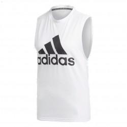 Adidas MH Badge Of Sport Tank Top Női Trikó (Fehér-Fekete) DP2409
