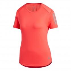 Adidas Own The Run Tee Női Futó Póló (Piros) DQ2617