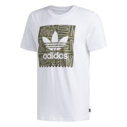 Adidas Originals Dakari BB Tee Férfi Póló (Fehér-Zöld) DU8353