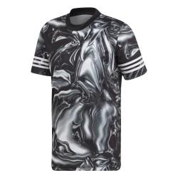 Adidas Originals Melted Marble Jersey Férfi Póló (Fekete-Fehér) DU8543