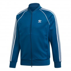 Adidas Originals SST Track Jacket Férfi Felső (Kék-Fehér) DV1513