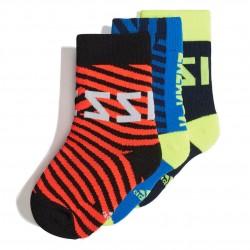 Adidas Messi Socks 3 P 3 Páras Zokni (Színes) DW4776