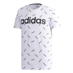 Adidas Graphic Tee Férfi Póló (Fehér-Fekete) DW7866