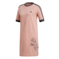 Adidas Originals Tee Dress Női Ruha (Barack-Szürke) DX4258