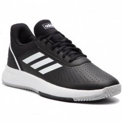 Adidas Courtsmash Férfi Tenisz Cipő (Fekete-Fehér) F36717