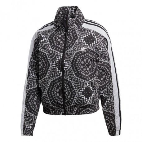 ee871cfbbccd Adidas Originals Windbreaker Női Széldzseki (Fekete-Fehér) DU9872