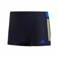Adidas 3 Stripes Colorblock Swim Boxers Férfi Úszó Boxer (Sötétkék-Sárga) DP7551