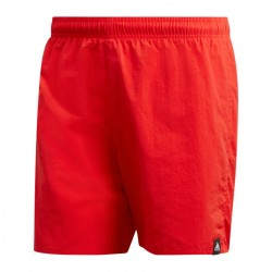 Adidas Solid Swim Shorts Férfi Úszó Short (Piros) DQ2973