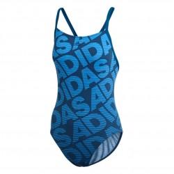 Adidas Allover Print Női Úszó Dressz (Kék) DQ3245