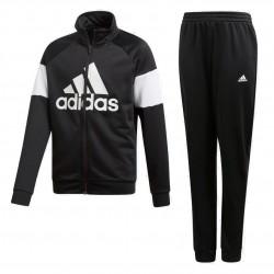 Adidas Badge Of Sport Tracksuit Fiú Gyerek Melegítő Együttes (Fekete-Fehér) DV1740