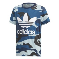 Adidas Originals Camouflage Tee Fiú Gyerek Póló (Kék-Fehér) DW3829
