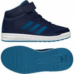 Adidas AltaSport Mid EL K Fiú Gyerek Cipő (Kék-Fehér) BB6209