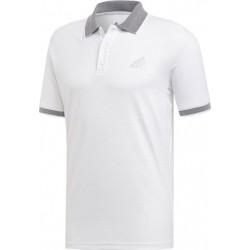 Adidas Club Polo Shirt Férfi Galléros Póló (Fehér-Fekete) DX1804