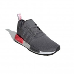 Adidas Originals NMD R1 Férfi Cipő (Szürke-Piros) BD7730