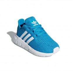 Adidas Originals Swift Run I Kisfiú Gyerek Cipő (Kék-Fehér) CG6978