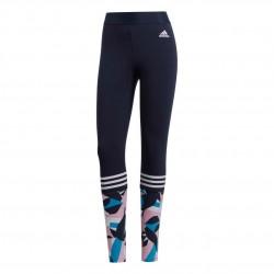 Adidas Sport ID Printed Tights Női Nadrág (Kék-Rózsaszín) DP2374