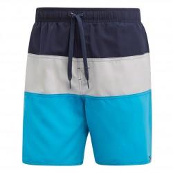 Adidas Colorblock Swim Shorts Férfi Úszó Short (Fekete-Szürke-Kék) DQ2990