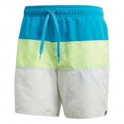 Adidas Colorblock Swim Shorts Férfi Úszó Short (Kék-Sárga-Fehér) DQ2991