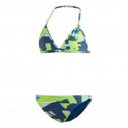 Adidas Allover Print Bikini Lány Gyerek Bikini (Kék) DQ3382