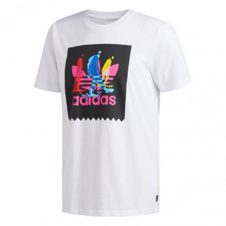 bc45ff8b8f Adidas Originals Caruthers BB Tee Férfi Póló (Fehér-Színes) DU8355