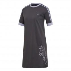 Adidas Originals Tee Dress Női Ruha (Szürke) DU9990