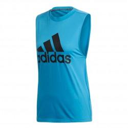 Adidas Must Haves Badge Of Sport Tank Top Női Trikó (Kék-Fekete) DX2542