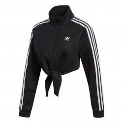 Adidas Originals Knotted Track Top Női Felső (Fekete-Fehér) FH7988