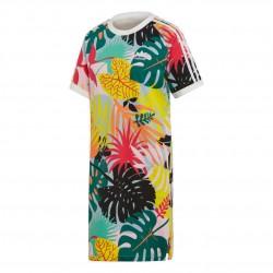 Adidas Originals Tropicalage Tee Dress Női Ruha (Színes) FH8002