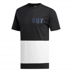 Adidas Originals EQT Graphic Tee Férfi Póló (Fekete-Fehér-Sötétkék) DH5231