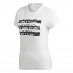 Adidas Sport ID Tee Női Póló (Fehér-Fekete) DU0229