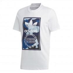 Adidas Originals Camouflage Tee Férfi Póló (Fehér-Kék) DX3662