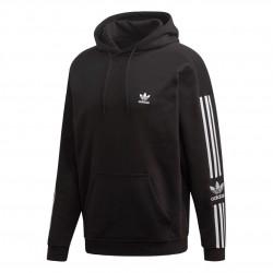 Adidas Originals Tech Hoodie Férfi Pulóver (Fekete-Fehér) ED6124