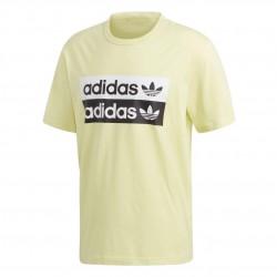 Adidas Originals RYV Logo Tee Férfi Póló (Sárga-Fekete-Fehér) ED7194