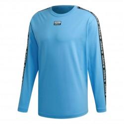 Adidas Originals RYV Logo Tee Férfi Felső (Kék-Fekete-Fehér) ED7199