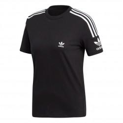 Adidas Originals Lock Up Tee Női Póló (Fekete-Fehér) ED7530