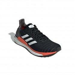 Adidas Solar Glide 19 Férfi Futó Cipő (Fekete-Narancs) G28062