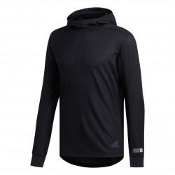 Adidas Adapt Hoodie Férfi Futó Felső (Fekete) DZ1542