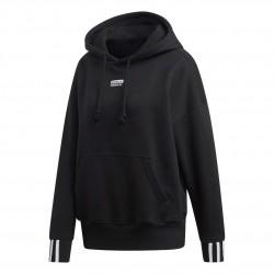 Adidas Originals Hoodie Női Pulóver (Fekete-Fehér) ED5848