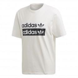 Adidas Originals RYV Logo Tee Férfi Póló (Fehér-Fekete) ED7195