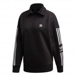 Adidas Originals Lock Up Sweatshirt Női Pulóver (Fekete-Fehér) ED7526
