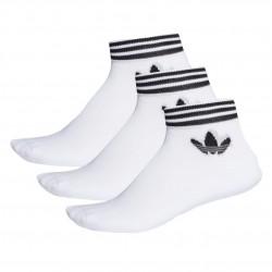 Adidas Originals Trefoil Ankle Socks 3 P 3 Páras Zokni (Fehér-Fekete) EE1152
