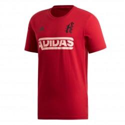Adidas SID Jersey M Férfi Póló (Piros-Fekete) ED7283