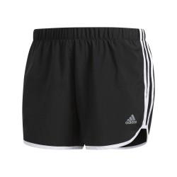 Adidas Marathon 20 Shorts Női Futó Short (Fekete-Fehér) DQ2645