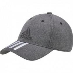 Adidas 6P 3 Stripes Cap Melan Baseball Sapka (Szürke-Fehér) S98155