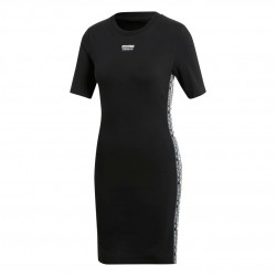 Adidas Originals Tee Dress Női Ruha (Fekete-Fehér) EC0752