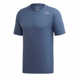 Adidas FreeLift Climachill 3 Stripes Tee Férfi Póló (Kék) EC2795