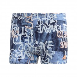 Adidas Parley Swim Boxers Férfi Úszó Boxer (Kék) EH6267
